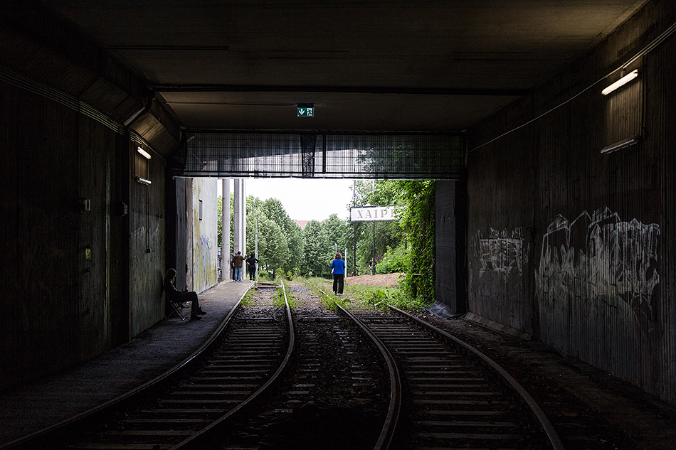 Fabian Fröhlich, documenta 14, Kassel, Zafos Xagoraris, The Welcoming Gate (Former Underground Train Station)