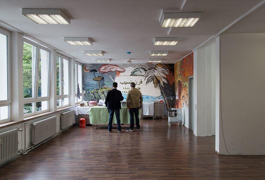 Fabian Fröhlich, documenta 14, Kassel, Mounira Al Sohl, Nassib's Bakery (Glass Pavilions on Kurt-Schumacher-Straße