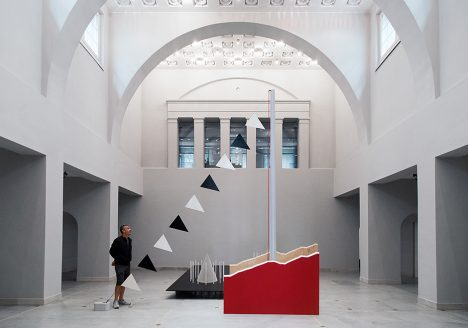 Fabian Fröhlich, documenta 14, Kassel, Nairy Baghramian, The Iron Table (Homage to Jane Bowles) (Hessisches Landesmuseum)