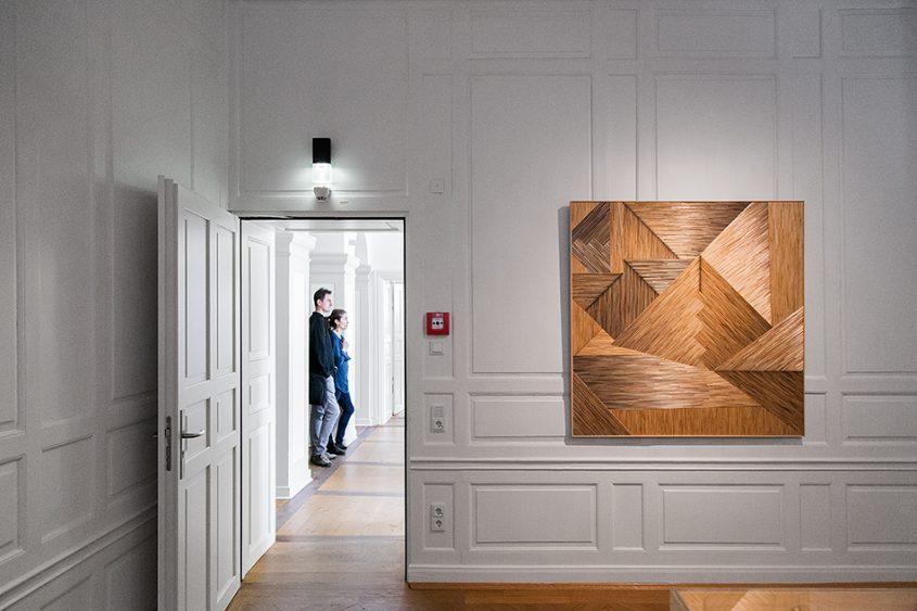 Fabian Fröhlich, documenta 14, Kassel, Olaf Holzapfel, installation view (Palais Bellevue)
