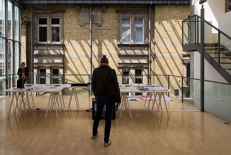 Fabian Fröhlich, documenta 14, Kassel, Collective exhibition for a single body (Museum für Sepulkralkultur)