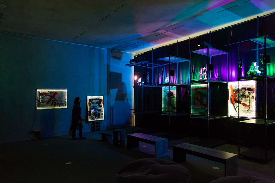 Fabian Fröhlich, documenta 14, Kassel, Andreas Angelidakis, installation view