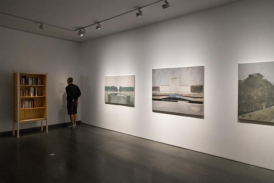 Fabian Fröhlich, documenta 14, Kassel, Annie Vigier & Franck Apertet (les gens d'Uterpan), Library / Edi Hila, Boulevard series