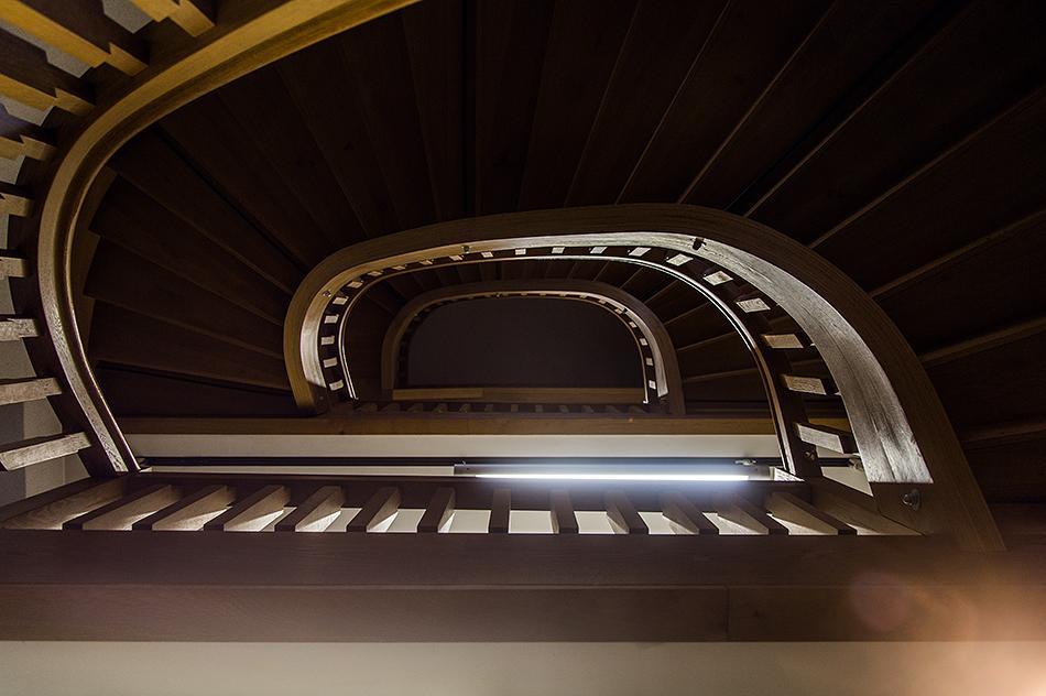 Fabian Fröhlich, documenta 14, Kassel, Staircaise at Torwache