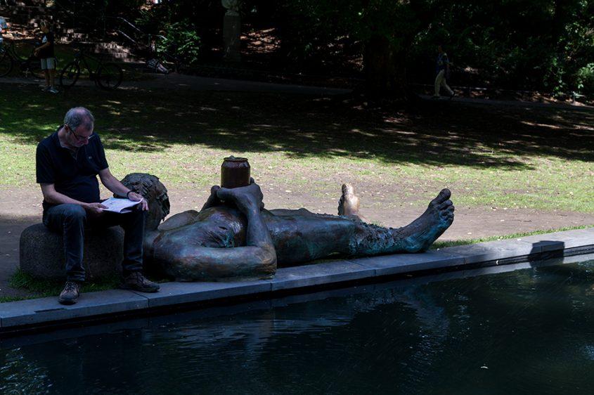 Fabian Fröhlich, Skulptur Projekte Münster, Nicole Eisenman, Sketch for a Fountain