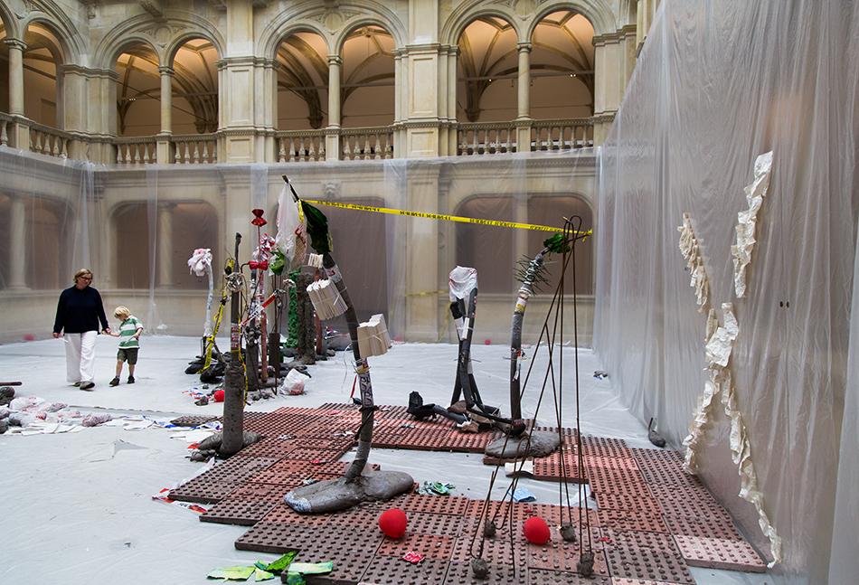 Fabian Fröhlich, Skulptur Projekte Münster, Michael Dean, Tender Tender