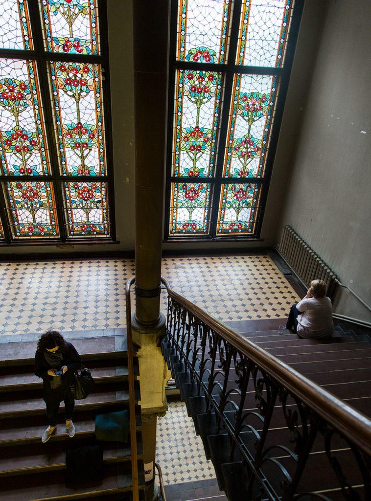 Fabian Fröhlich, Riga, Staircase at the Art Academy of Latvia