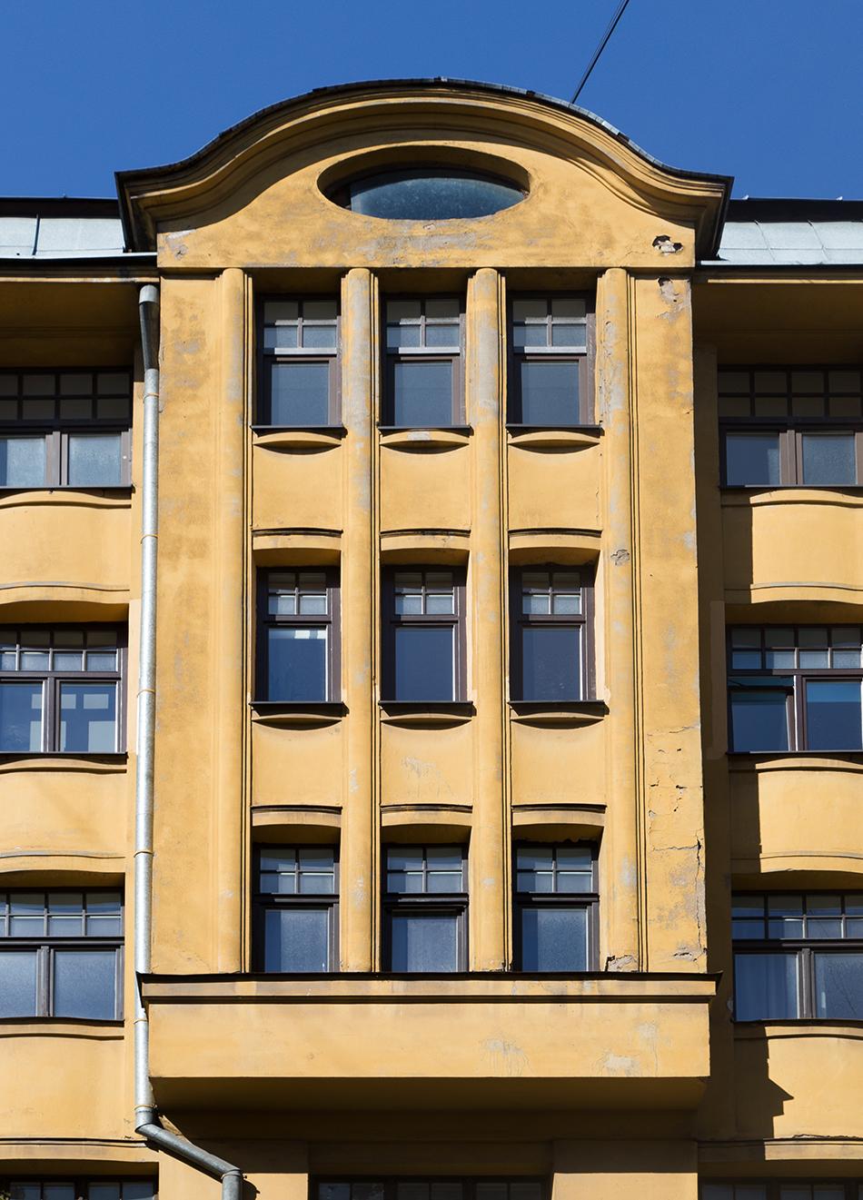 Fabian Fröhlich, Riga, Jugendstil,