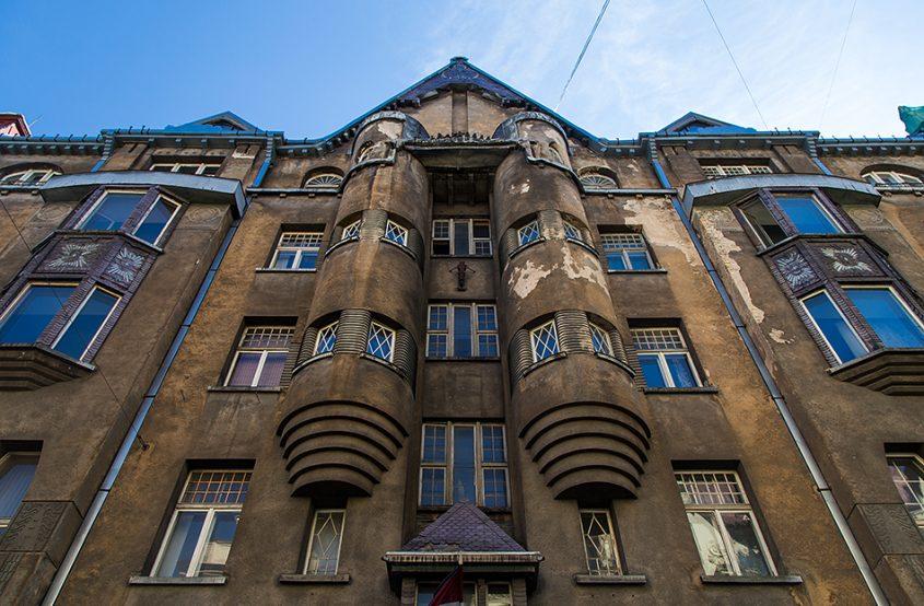 Fabian Fröhlich, Riga, Jugendstil, Alberta iela 11