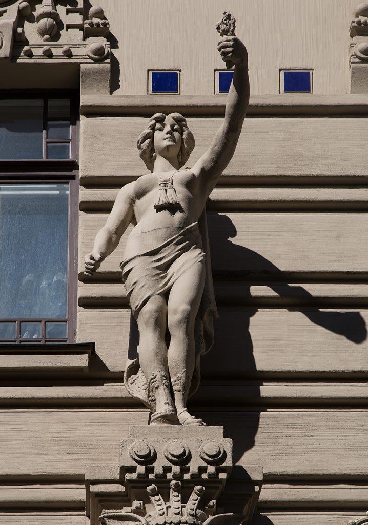 Fabian Fröhlich, Riga, Jugendstil, Alberta iela 2