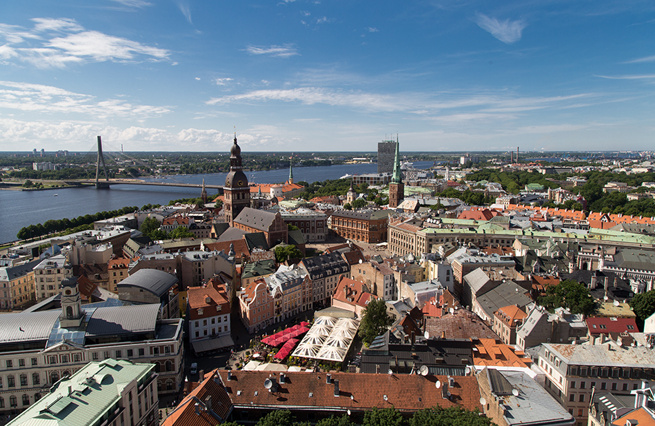 Riga, Historical Centre, Panorama