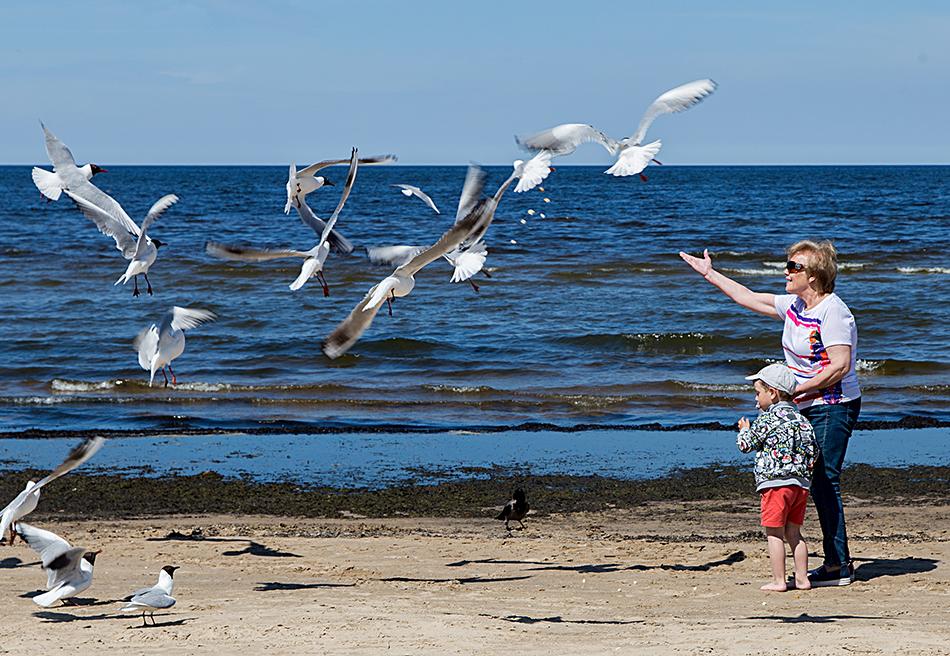 Fabian Fröhlich, Riga, Jūrmala Beach