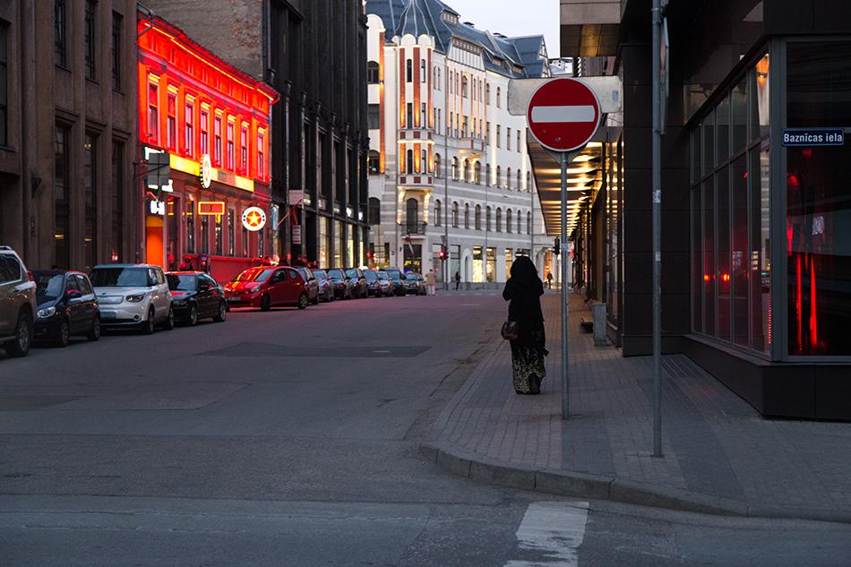 Fabian Fröhlich, Riga, Dzirnavu iela