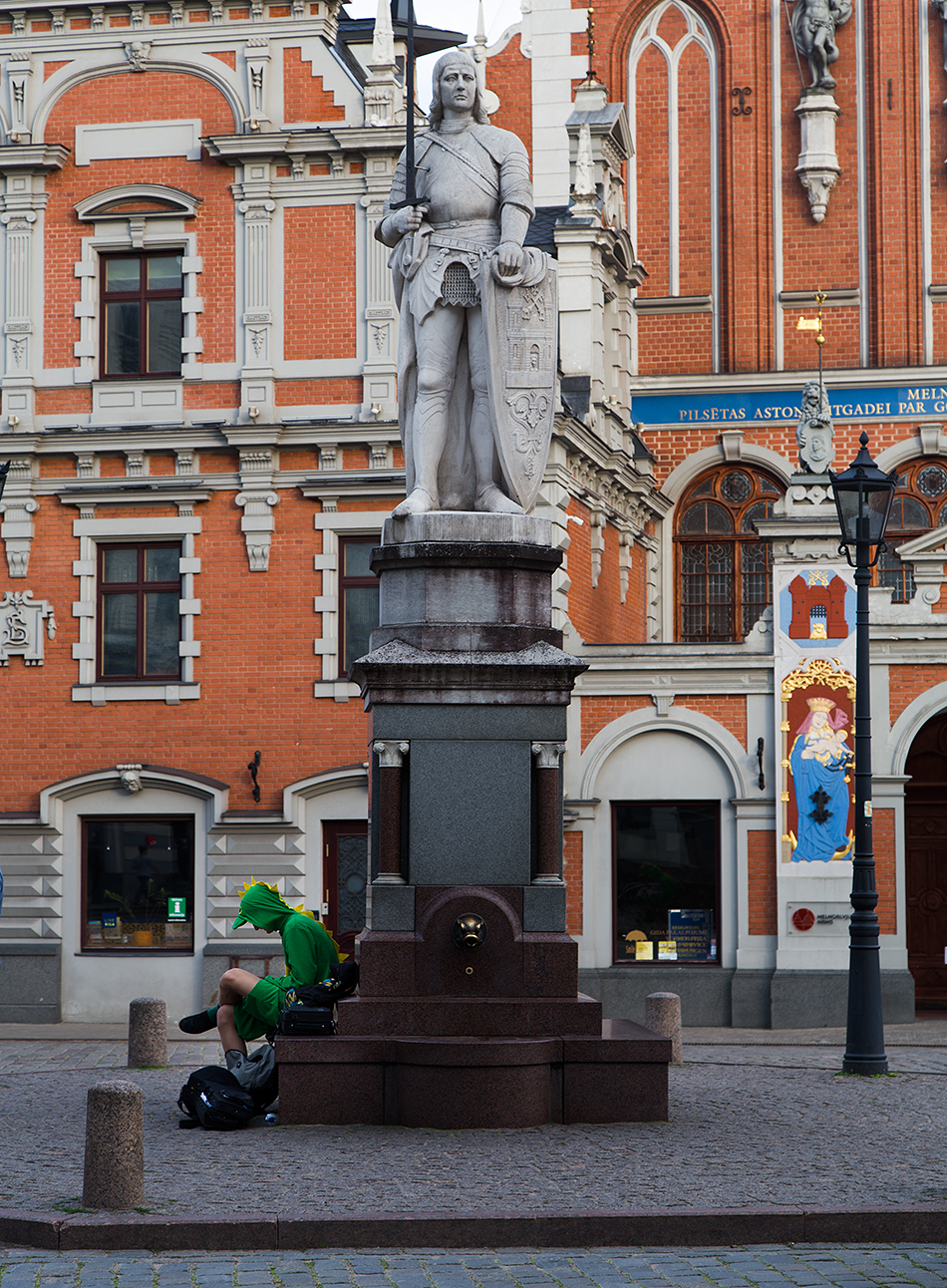 Riga, Historical Centre, Roland