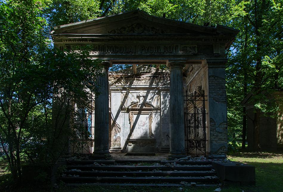 Fabian Fröhlich, Riga, Lielie kapi (Great Cemetary)