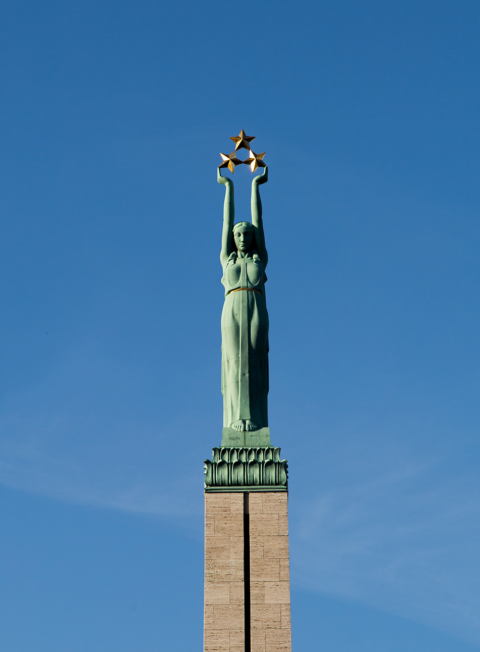 Fabian Fröhlich, Riga, Freedom Monument