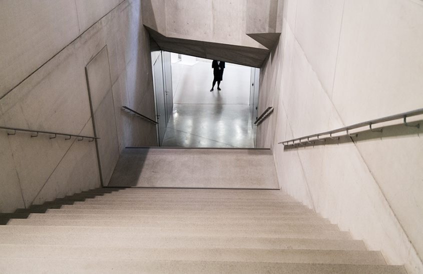 Fabian Fröhlich, Riga, Latvian National Museum of Art, Stairs to the basement