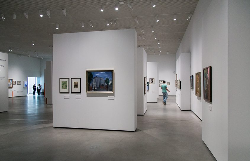 Fabian Fröhlich, Riga, Latvian National Museum of Art, Undergrund exhibition room
