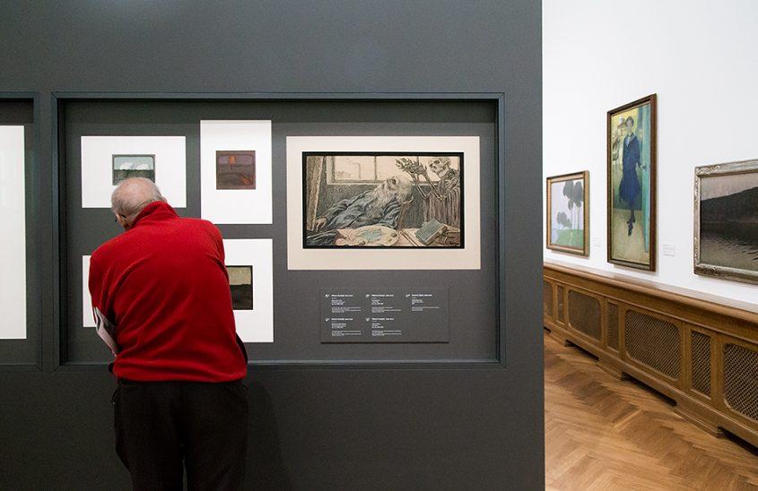 Fabian Fröhlich, Riga, Latvian National Museum of Art, Theodor Ūders, Death of the Artist