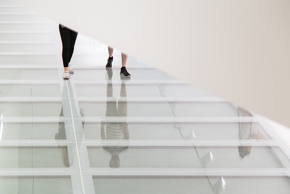 Fabian Fröhlich, Riga, Latvian National Museum of Art, Glass Floor
