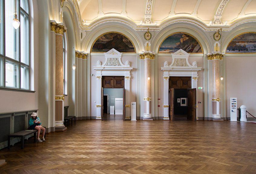Fabian Fröhlich, Riga, Latvian National Museum of Art, Central Hall