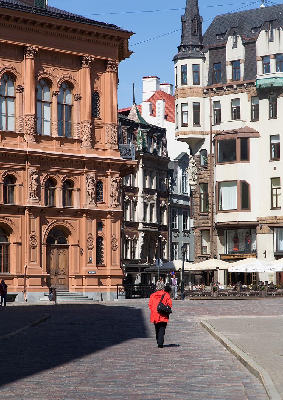 Riga, Historical Centre, Rigas Bourse, Doma laukums