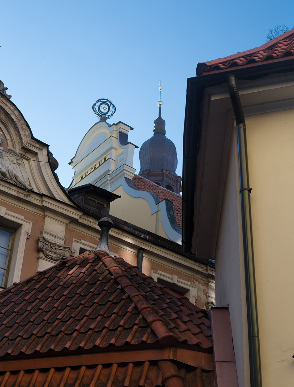 Riga, Historical Centre, Rooftops
