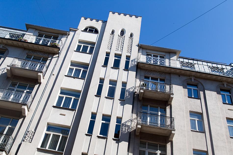 Fabian Fröhlich, Riga, Art deco, Strēlnieku iela 2