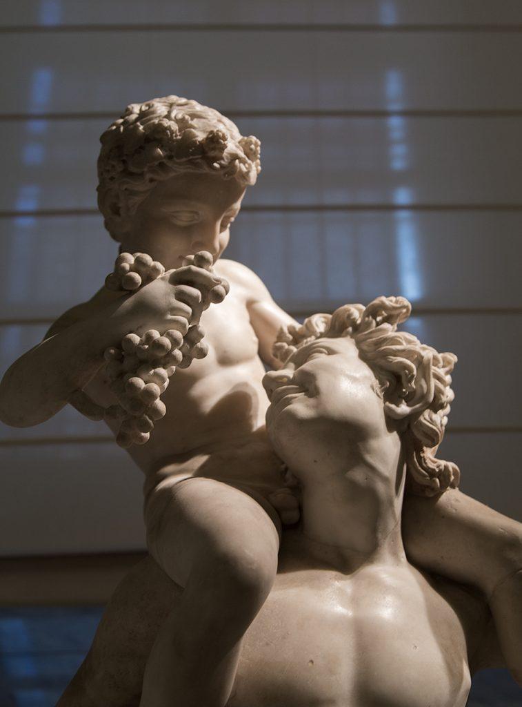 Neapel, Archäologisches Nationalmuseum, Amor und Bacchus