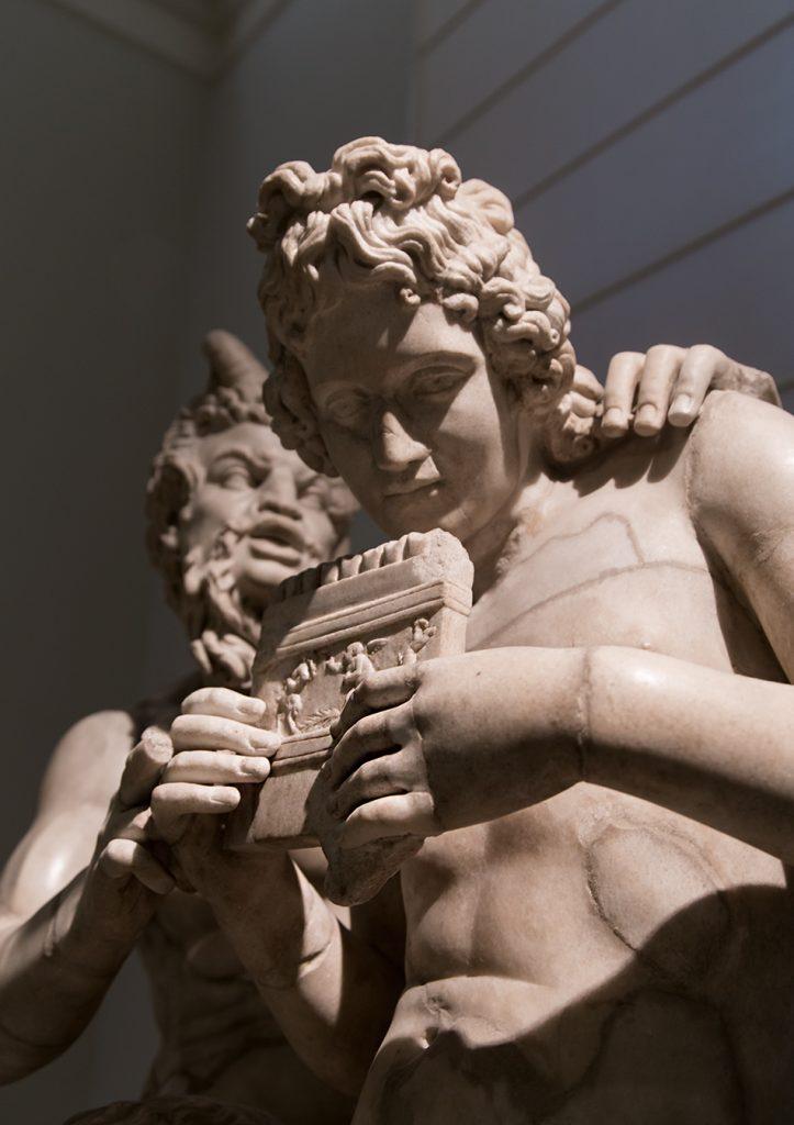 Neapel, Archäologisches Nationalmuseum, Pan und Daphnis