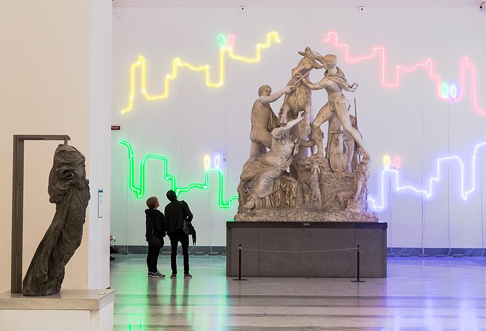 Neapel, Archäologisches Nationalmuseum, Farnesischer Stier, Toro Farnese