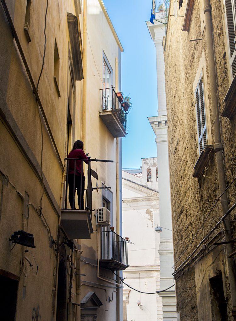 Neapel / Napoli, Balkon