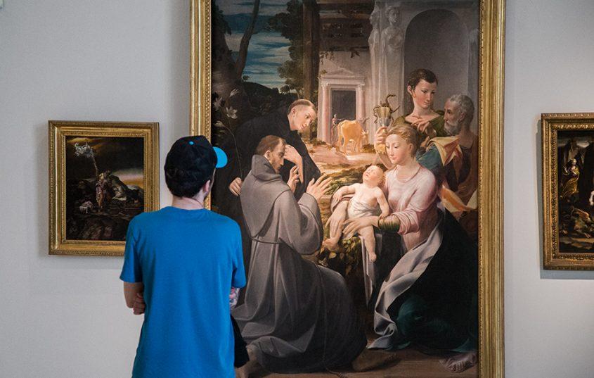 Napoli, Museo Nazionale di Capodimonte, Girolamo Mazzola Bedoli, La Madonna