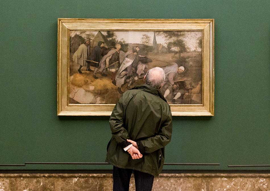 Napoli, Museo Nazionale di Capodimonte, Pieter Bruegel, Blindensturz