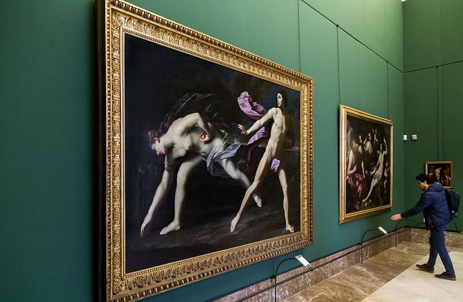 Napoli, Museo Nazionale di Capodimonte, Guido Reni, Atalanta e Ippomene
