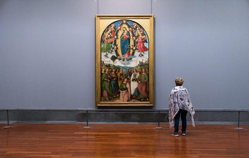 Napoli, Museo Nazionale di Capodimonte, Pinturicchio, Assunzione della vergine