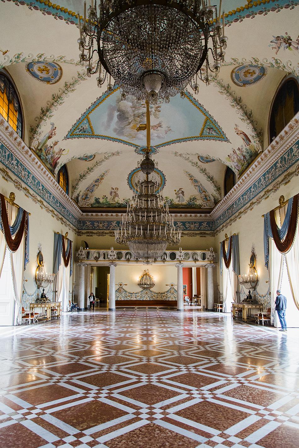 Napoli, Museo Nazionale di Capodimonte, Salone da Ballo