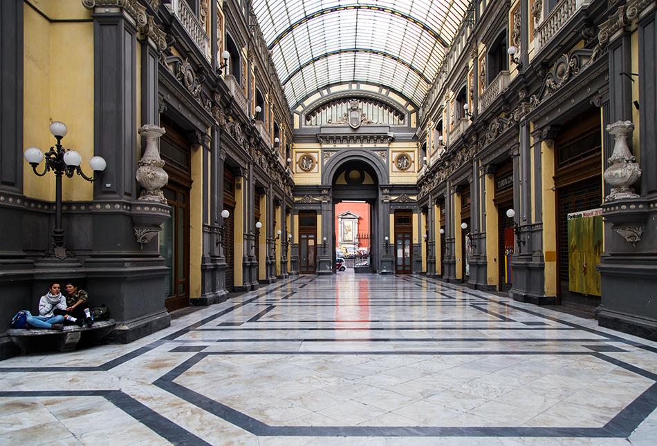 Neapel / Napoli, Galleria Principe di Napoli