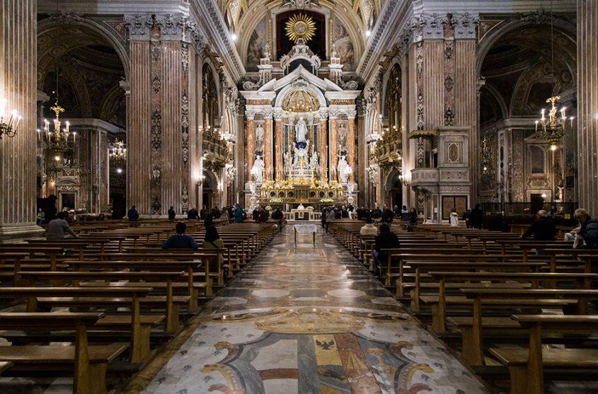 Neapel / Napoli, Gesù Nuovo
