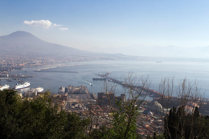 Neapel / Napoli, Golfo di Napoli