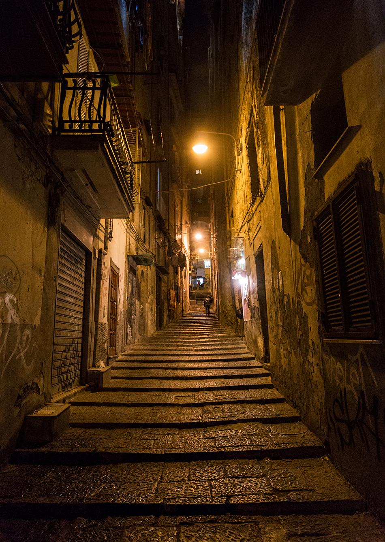Neapel / Napoli, Pendino Santa Barbara