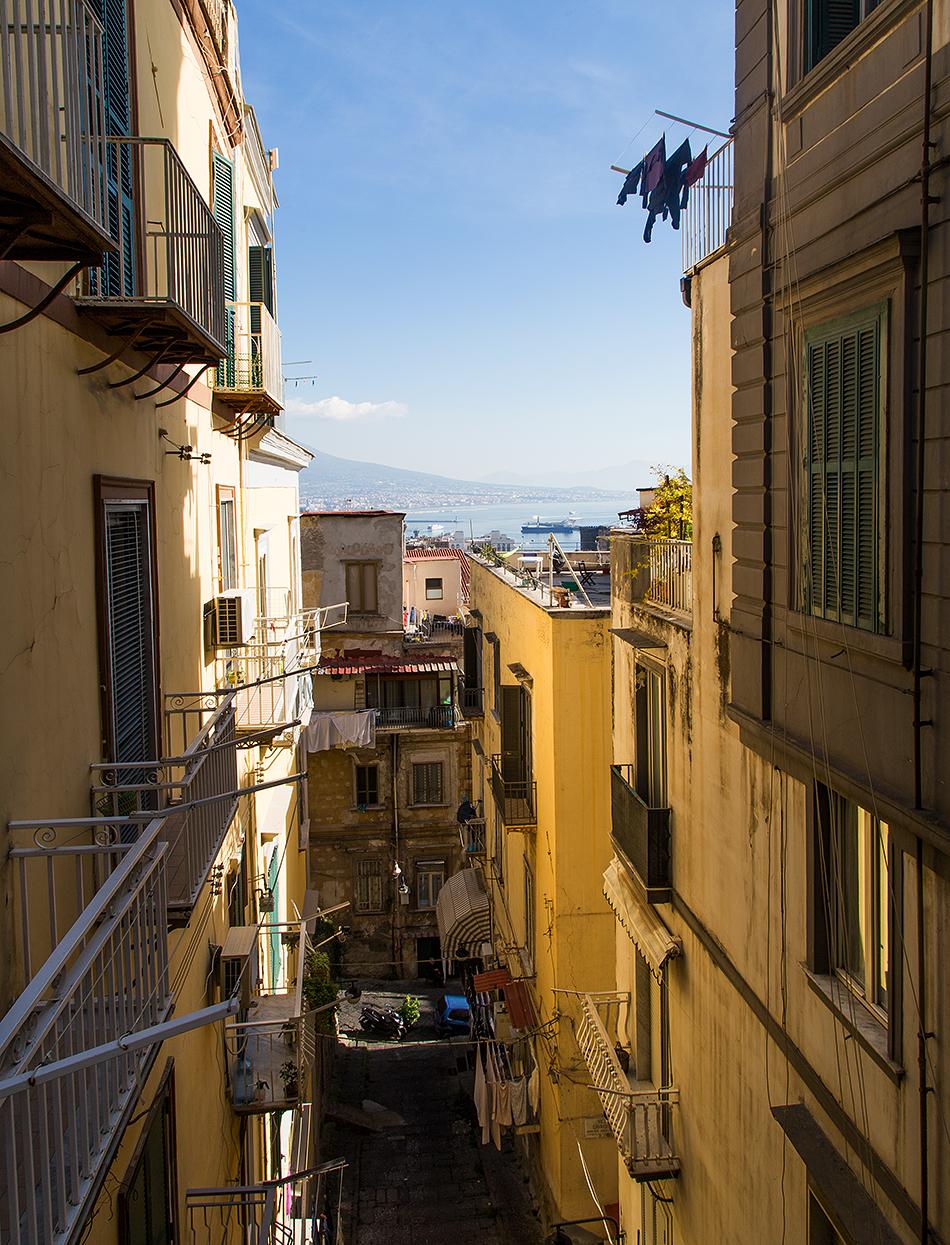 Neapel / Napoli, Quartieri Spagnoli