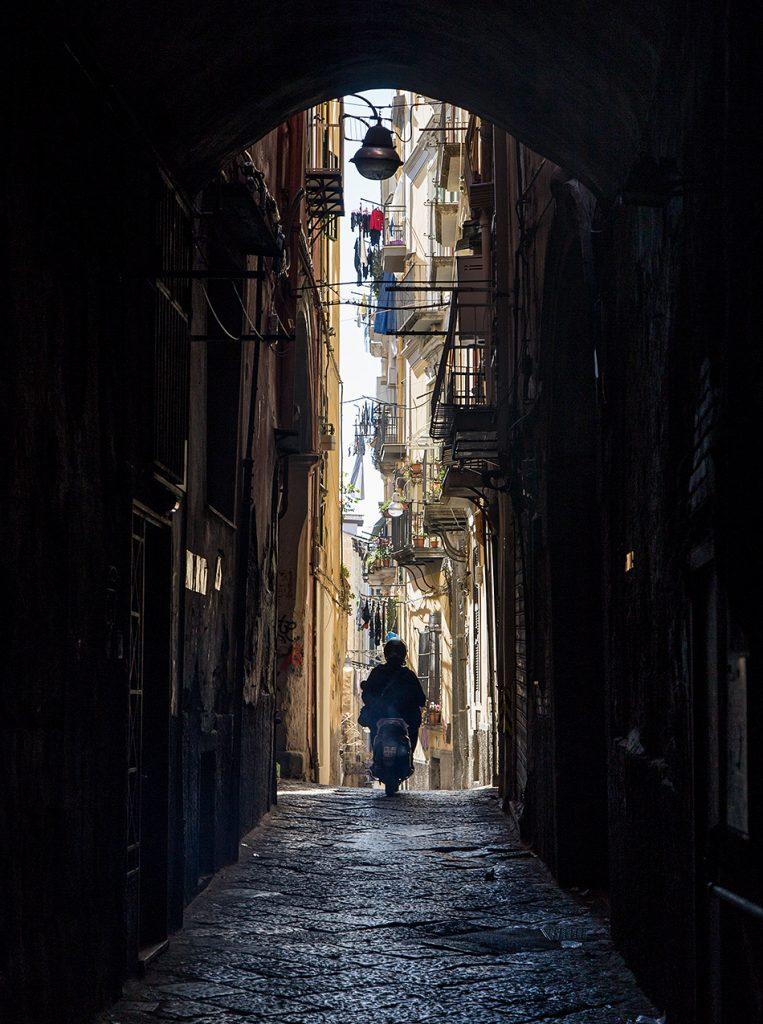 Neapel / Napoli, Nähe Via Tribunale