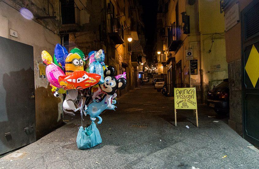Neapel / Napoli, Via Portacaresse a Montecalvario