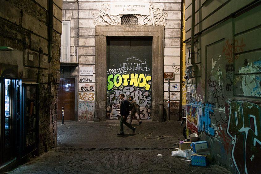 Neapel / Napoli, Via San Pietro a Maiella