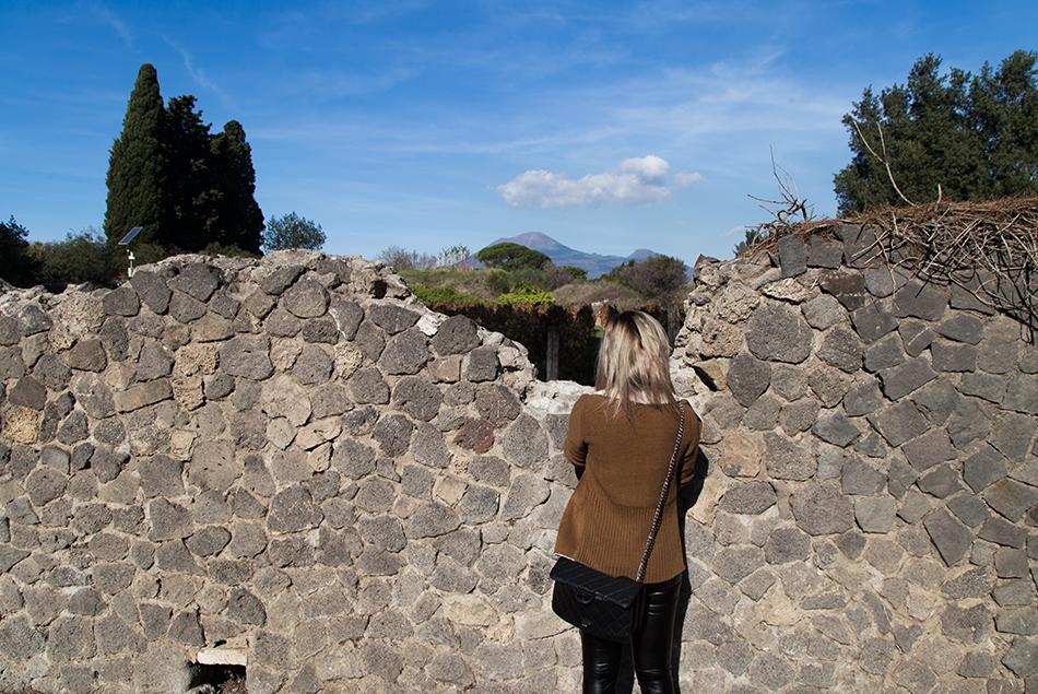 Pompei, Vesuv