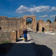 Pompei, Via del Foro