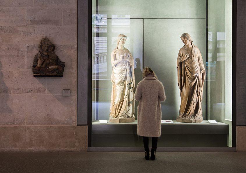Fabian Fröhlich, Louvre, Nino Pisano, Madonna dell'annunciazione