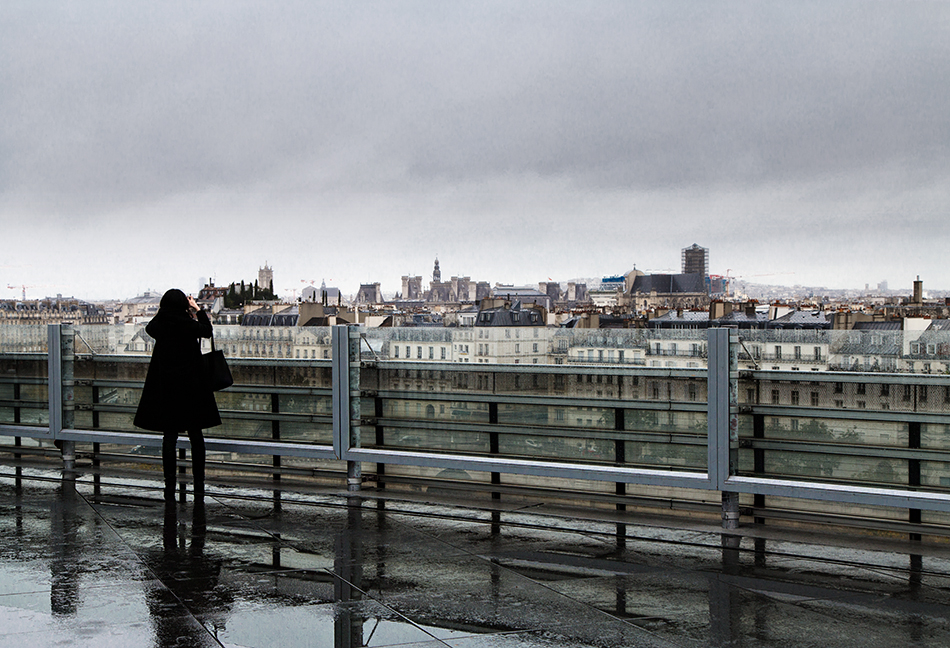 Fabian Fröhlich, Paris, Institut du monde arabe, Terrasse