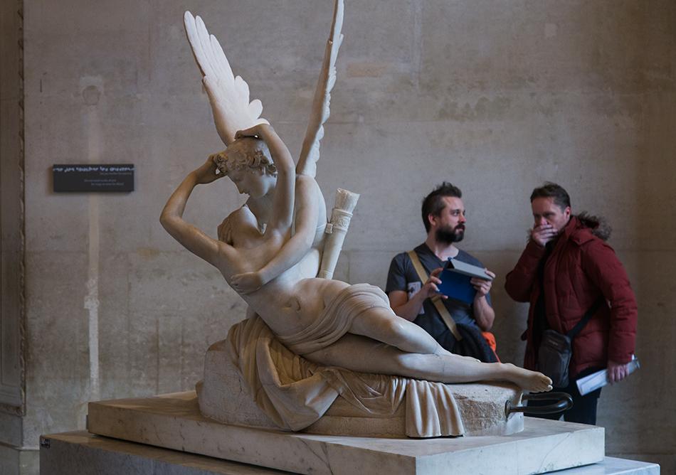 Fabian Fröhlich, Louvre, L'Amour et Psyché